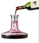 Skleněný dekantér na červené víno