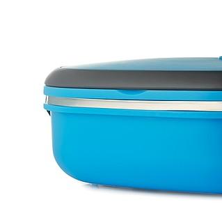 JARDUN Obědový box se vzduchotěsným víkem, tyrkysový