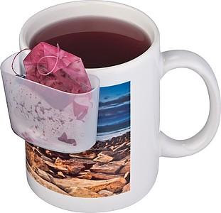 KRUKE Plastový držák na hrnek k odložení čajového sáčku nebo sušenky