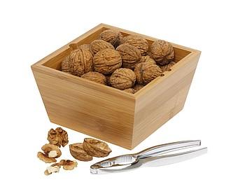 NUTY Louskáček na ořechy s bambusovou miskou