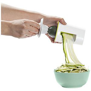 Zeleninový spirálový kráječ, bílá