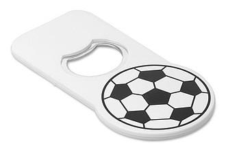 Otvírák na lahve s magnetem, design fotbalového míče