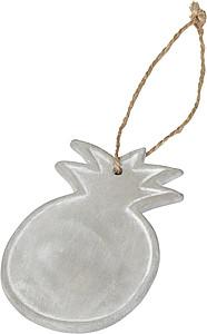 Keramický ornament Ananas, šedá