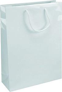 IVONE 24 Papírová taška s lesklou povrchovou úpravou,24x9x35cm