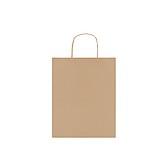 Papírová dárková taška, béžová