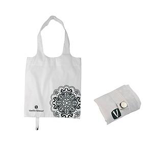 VS BATNA skládací nákup. taška, polyester, bílá