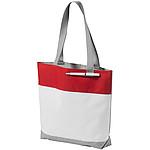 DARTEMIS Velká netkaná nákupní taška, bílá