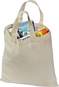 COMBOT Malá bavlněná nákupní taška, 2 krátké uši