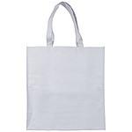Papírová tkaná taška Papyrus, bílá