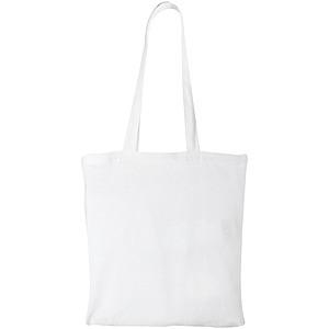 Bavlněná taška Peru, bílá