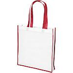 Nákupní taška z plátna 340 g/m2 a juty, béžová