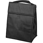 Velká netkaná nákupní taška, bílá/černá