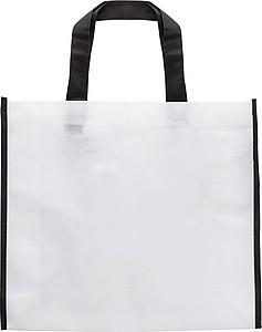 RESORTA Netkaná nákupní taška s obrázkem na vybarvení