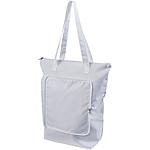 Skládací netkaná taška, bílá