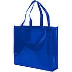 Srolovatelná taška s přední barevnou nášivkou, červená