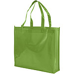 Melírovaná taška z recyklované bavlny, béžová