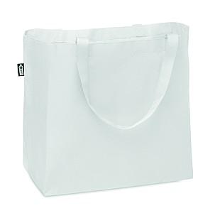 Velká nákupní taška z RPET, bílá