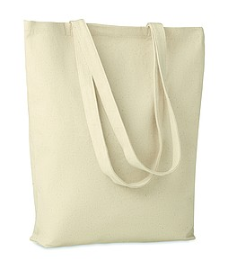Plátěná nákupní taška s dlouhými uchy