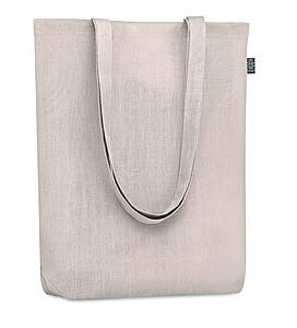Nákupní taška z konopí s dlouhými uchy, béžová