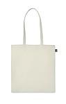 Nákupní taška z organické bavlny, béžová