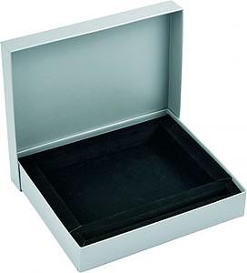 KALYS, dárková krabička s prostorem na peněženku a pero papírová taška s potiskem