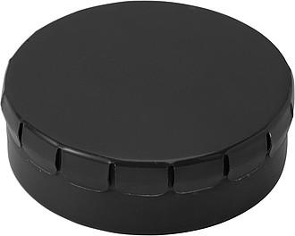 KAPSÍK Krabička s mintovými bonbony, černá