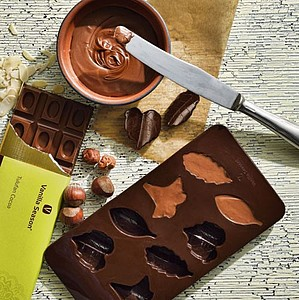 VS TULUFAN COCOA SET sada silikonové formy s čokoládou