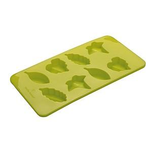 VS TULUFAN ICE SET Sada silikonové formy a 2 skleniček, zelená