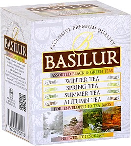 LASUR BASILUR Four Seasons Assorted 5x1,5g a 5x2g