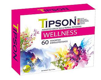 LAMBADA Wellness Kazeta Variace čajů Tipson, přebal 60x1,3g
