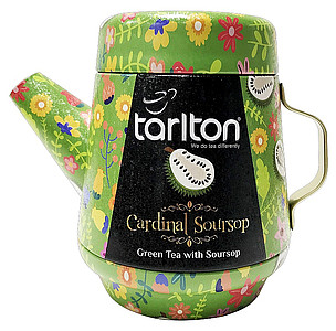 TIGLO Tea Pot Tarlton Cardinal Soursop Green Tea plech 100g