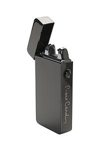PIERRE CARDIN ELECTRIC Dobíjecí elektrický zapalovač gunmetal