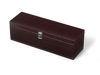 RESTINA Luxusní souprava na víno v dřevěné krabici