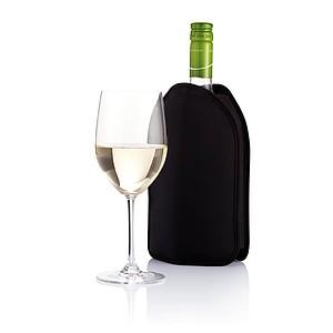 Chladící obal na víno, černá