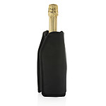 Chladící obal na lahev Vino, černá