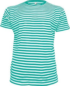 STRIPY Men Pánské námořnické tričko, barva bílá, zelená M