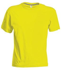 Tričko PAYPER SUNSET reflexní žlutá S