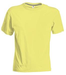Tričko PAYPER SUNSET světle žlutá XXL