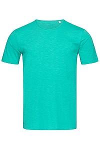 Tričko STEDMAN STARS SHAWN CREW NECK bahama zelená S - reklamní trička