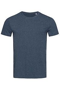 Tričko STEDMAN STARS LUKE CREW NECK tmavě modrý melír S