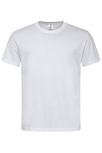 Pánské tričko STEDMAN CLASSIC-T ORGANIC MEN z bio bavlny, bílá, L