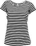 STRIPY Women Dámské námořnické tričko, barva bílá, černá L