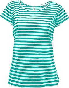 STRIPY Women Dámské námořnické tričko, barva barva bílá/mátováS