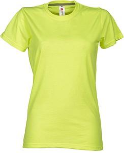 Tričko PAYPER SUNSET LADY reflexní žlutá M