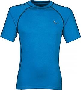 ANITA Pánské tričko Klimatex s krátkým rukávem, modrá M