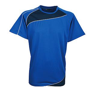 SCHWARZWOLF RILA MEN funkční tričko, modré XXL - reklamní čepice