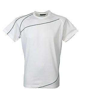 SCHWARZWOLF RILA MEN funkční tričko, bílé XL