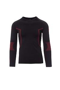 Pánské funkční tričko PAYPER THERMO PRO 240 LS, černá, L/XL
