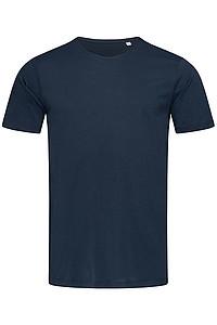Tričko STEDMAN FINEST COTTON MEN tmavě modrá L - reklamní trička
