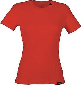 SANDRA Dámské tričko Klimatex s krátkým rukávem, červená S